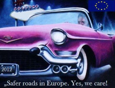 Safer roads in Europe. Yes, we care!